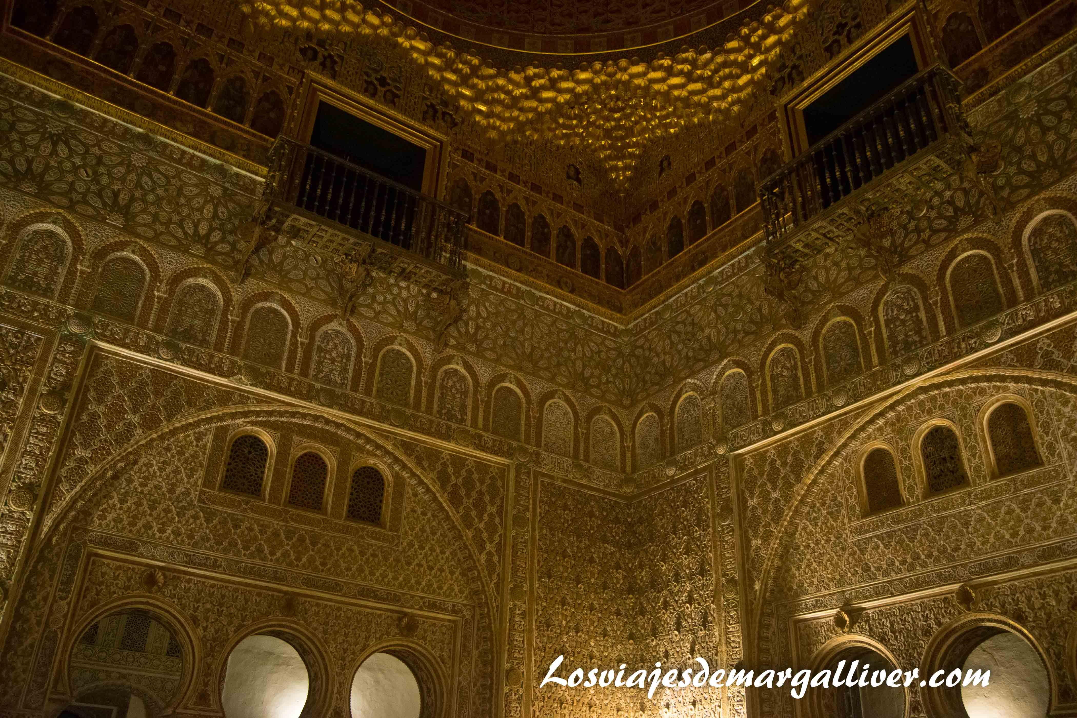 Palacio Mudejar de los reales alcazares de Sevilla - Los viajes de Margalliver